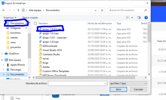 ipogo select ipa file