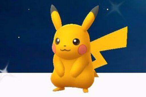 Pikachu brillante ultra raro fue lanzado en Pokémon Go