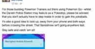 Pokémon GO escondió a Sandshrew en la comisaría con resultados ridículos