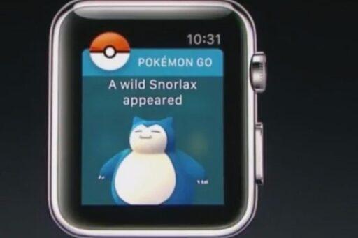 Pokémon Go anunciado para el Apple Watch